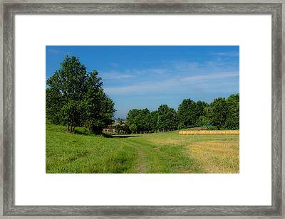 Walk To The Countryside  Framed Print by Cesare Bargiggia