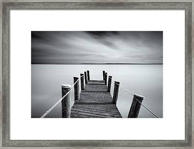 Walk To Tranquility Framed Print
