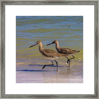 Walk Together Stay Together Framed Print by Marvin Spates