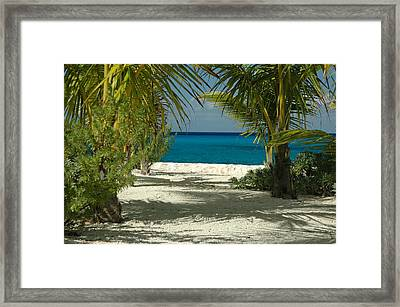 Walk With Me Framed Print by Lori Mellen-Pagliaro