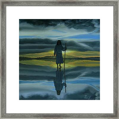 Walk With You Framed Print