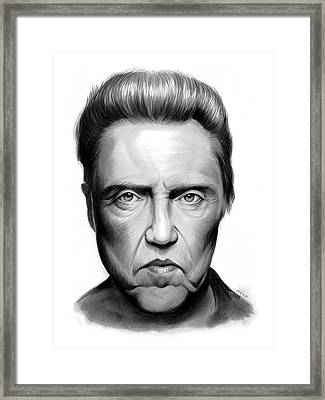 Walken Framed Print by Greg Joens
