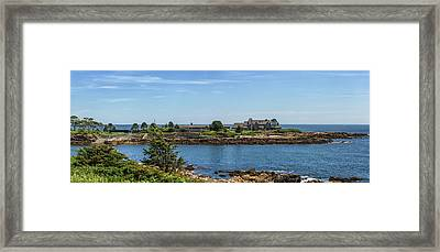 Walkers Point Kennebunkport Maine Framed Print by Brian MacLean