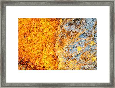 Walking A Thin Line Framed Print