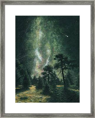 Walking After Midnight Framed Print by Dave Herrling