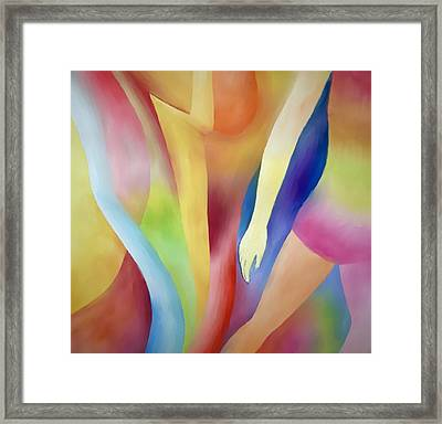Walking Away 2 Framed Print by Peter Shor