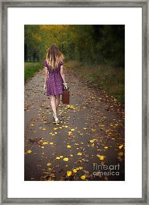 Walking Away Framed Print by Svetlana Sewell