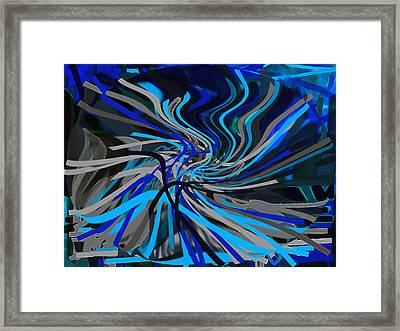 Walking Between Heaven And Earth. Framed Print