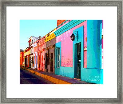 Walking Home By Darian Day Framed Print