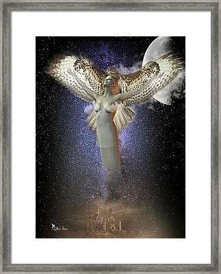 Walking In The Air Framed Print