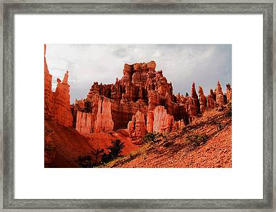 Walking Into Bryce Canyon Framed Print