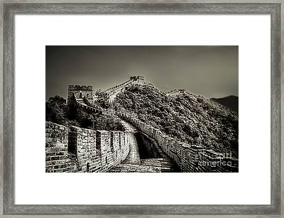 Walking On The History Framed Print by Alessandro Giorgi Art Photography