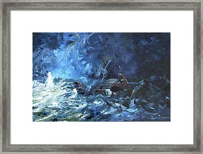 Walking On Water Framed Print