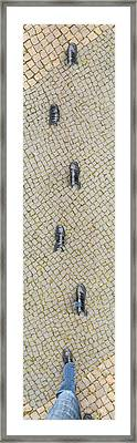 Walking Shoes 01 Framed Print
