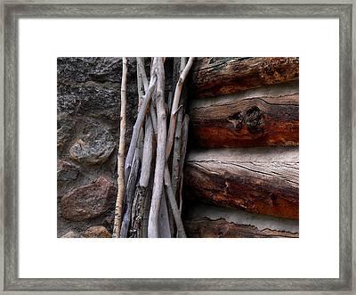 Walking Sticks Framed Print