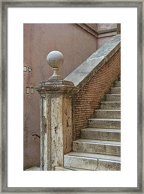 Walking The Castel Framed Print by JAMART Photography