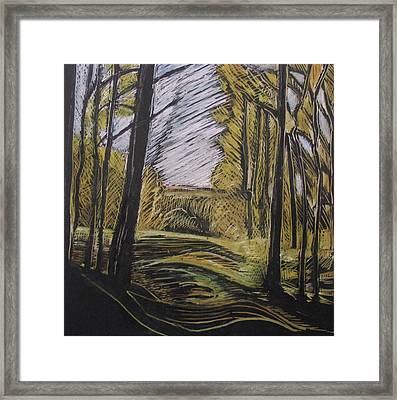 Walking Through Framed Print by Grace Keown