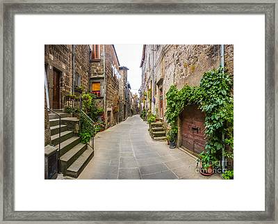 Walking Through Old Europe Framed Print by JR Photography