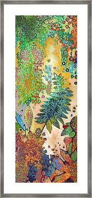Walking With The Forest Spirits Part 2 Framed Print by Jennifer Lommers