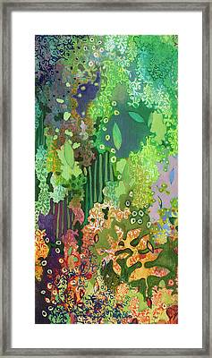 Walking With The Forest Spirits Part I Framed Print by Jennifer Lommers