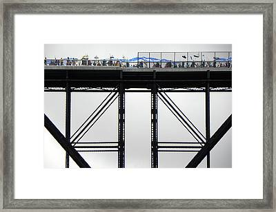 Walkway Over The Hudson 2009 Opening Day Celebration Framed Print
