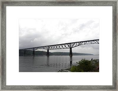 Walkway Over The Hudson Opening Day 2009 Framed Print