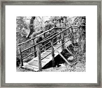 Walkway Framed Print by William Dey