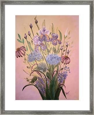 Wall Art Framed Print by Barbara Hayes