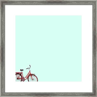 Wall Bici Framed Print