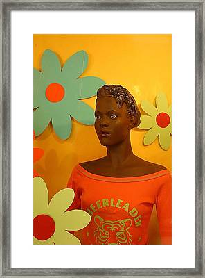 Wall Flower Framed Print by Jez C Self