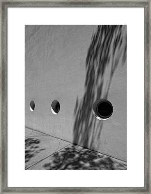 Wall Guggenheim Museum Nyc 2 Framed Print