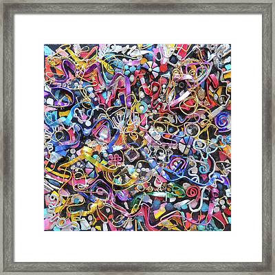 Wall Jewelry 3r Framed Print