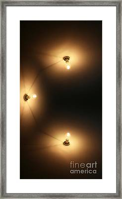 Wall Lighting Framed Print by Jorgo Photography - Wall Art Gallery