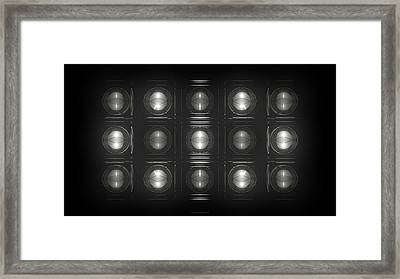 Wall Of Roundels - 5x3 Framed Print
