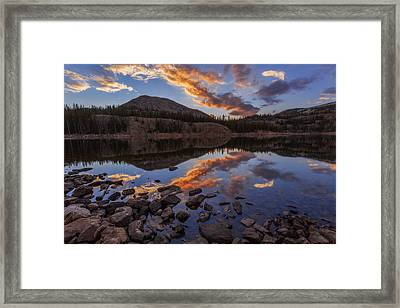Wall Reflection Framed Print by Chad Dutson