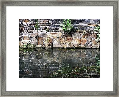 Wall Reflection Framed Print by Kathy Daxon