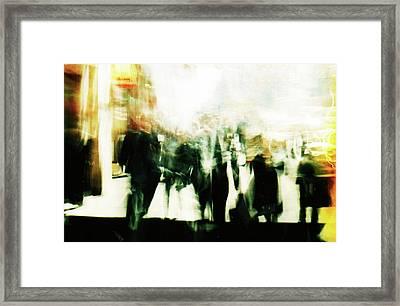 Wall Street Framed Print by Brad Bixler