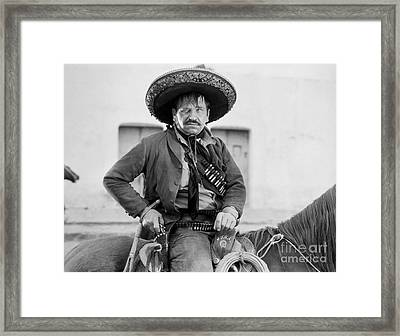 Wallace Beery (1885-1949) Framed Print by Granger
