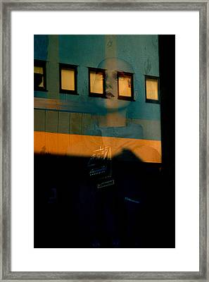 Walled In In This Odd World Framed Print by Jez C Self