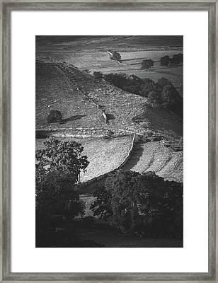 Walls Framed Print