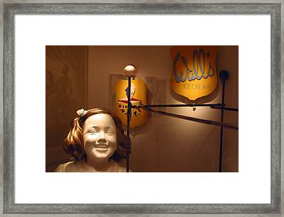 Walls Have Ears Framed Print by Jez C Self