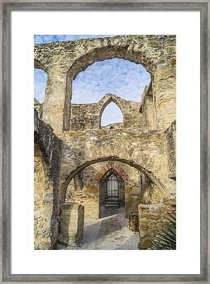 Walls Of Holy Destruction Framed Print by Craig David Morrison