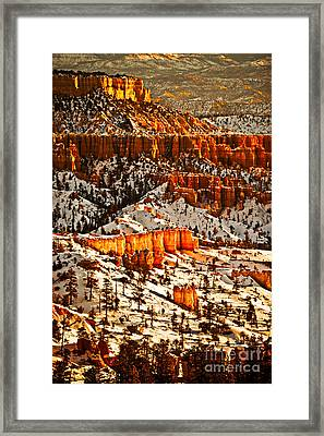 Walls Of Wonder II Framed Print by Irene Abdou
