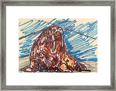 Wally Framed Print