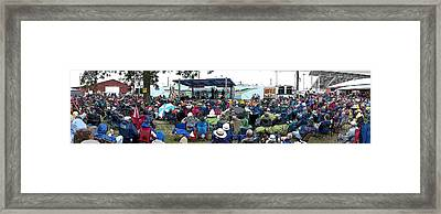Walnut Valley Festival Framed Print