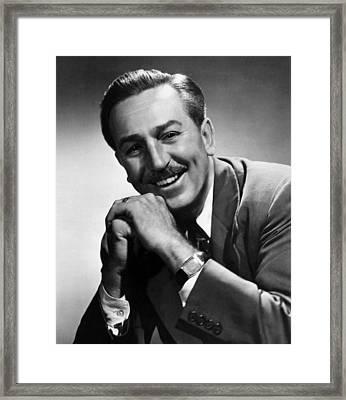 Walt Disney, 1955 Framed Print by Everett