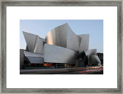 Walt Disney Concert Hall 17 Framed Print by Bob Christopher