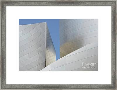 Walt Disney Concert Hall 22 Framed Print by Bob Christopher