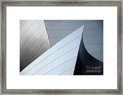 Walt Disney Concert Hall 9 Framed Print by Bob Christopher
