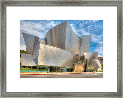 Walt Disney Concert Hall - Los Angeles Framed Print
